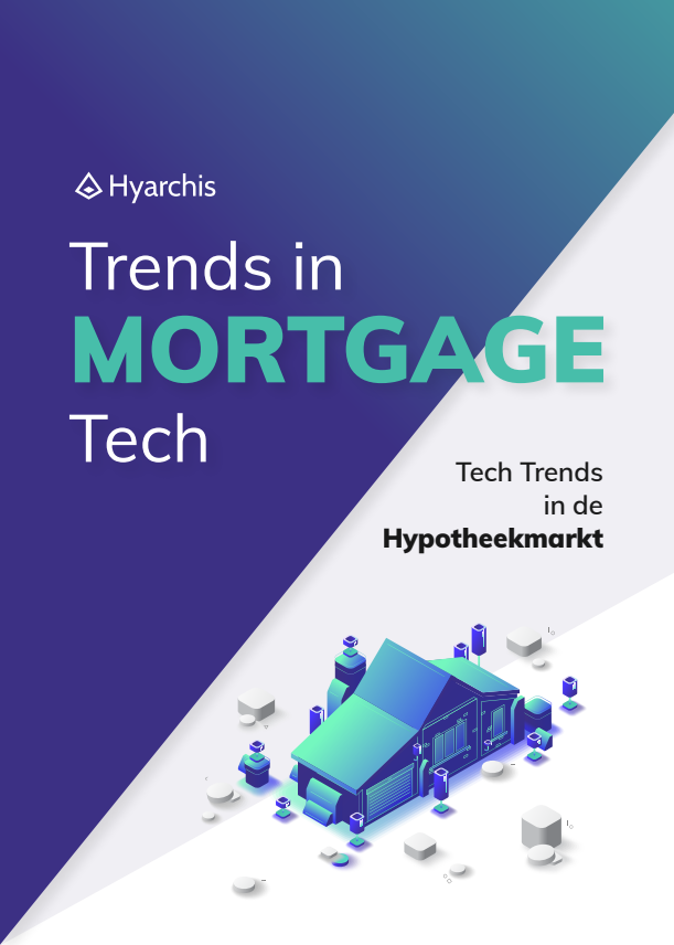 Hyarchis Trends in Mortgage Tech report cover.