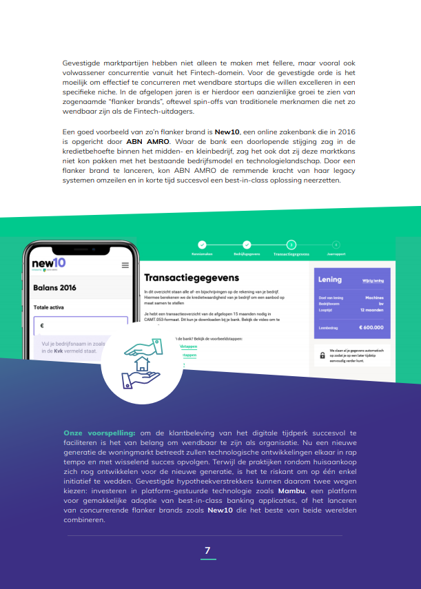 Hyarchis Trends in Mortgage Tech rapportpagina.